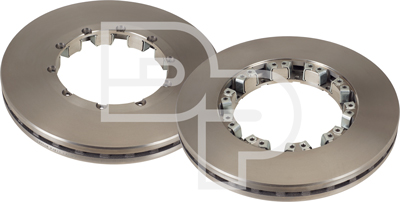 D/_G/_2579 Pair 2x Drilled and Grooved 4 Stud 276mm Solid OE Quality Brake Discs