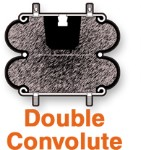 AIR SPRING DOUBLE CONVOLUTE 2B9-201