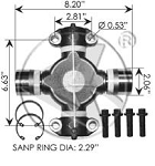 Universal Joint 752.1225R