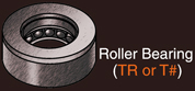King Pin Roller Bearing
